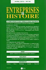 Entreprises et Histoire, n° 66, 2012/1.